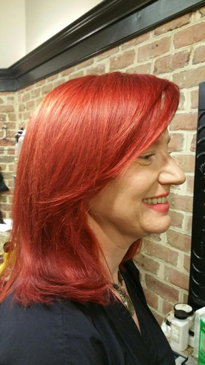 Red hair color York Pa