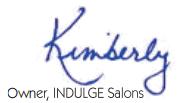 Indulge Salon Graphic