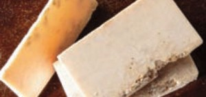 Almond milk and honey oatmeal  soap for ingrown hairs