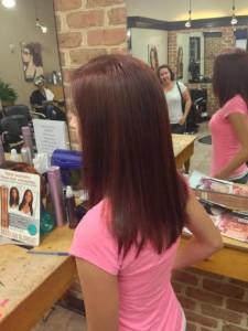 Indulge Salon york pa, red auburn hair