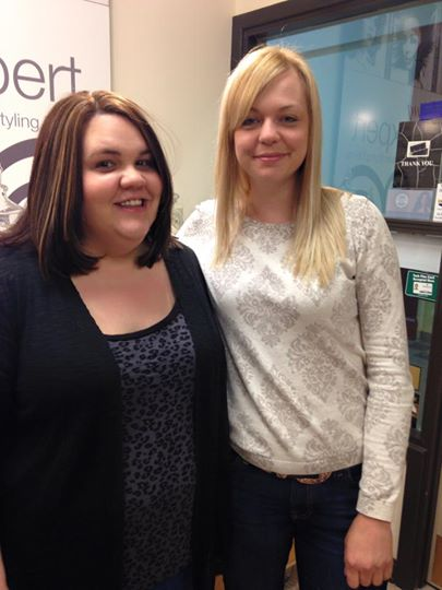 Friends being pampered at Indulge Salon York. Thank you stylists Bretina and Taylor !