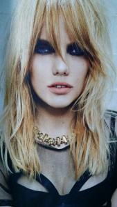 Indulge Salon York Pa captures inspiration with this Tigi model showing Textureed layers, New trends in texture 2015