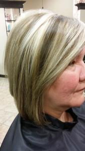 Aqua tape in hair extensions