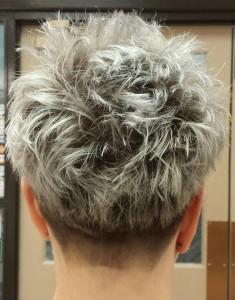 THE NEW GRAY hair textured, Indulge Salon York Pa, Best hair salon york pa