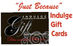 Indulge Salon Gift Cards