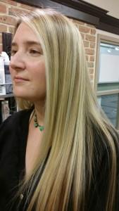 balayage highlights long hair