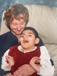 Carson McCord and his Nana (Linda Yurchak)