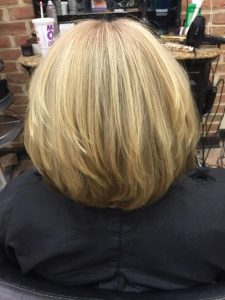 AFTER Brazilian Blowout keratin Treatment