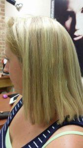 glued in hair extensions
