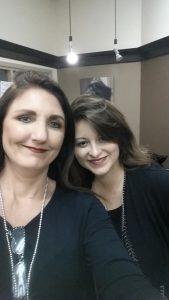 Kimberly Acworth and Alexandra from MUZE salon