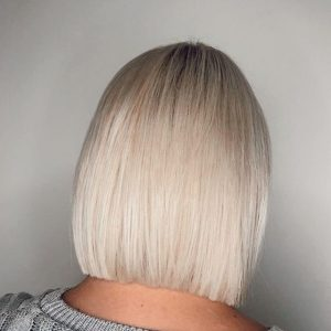 Brazilian blowout used on double processed hair