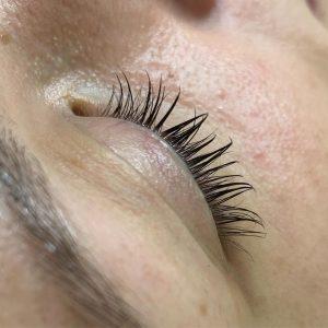 AFTER eyelash lift